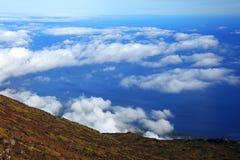 Pico Wulkan Obrazy Royalty Free
