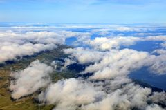 Pico Wulkan Obraz Royalty Free