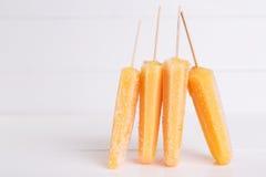 Picolés gelados Foto de Stock