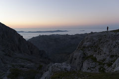 picos национального парка de europa стоковое фото