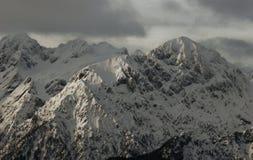 Picos alpinos Imagens de Stock Royalty Free