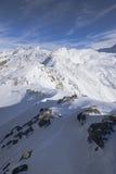 Picos da montanha alta Fotografia de Stock Royalty Free