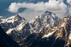 Picos da neve Imagens de Stock Royalty Free
