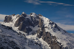 Picos de Европа, Sotres Стоковые Фото