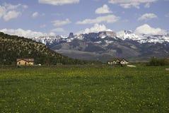 Picos de Colorado Fotografía de archivo libre de regalías