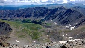 Picos de Colorado fotos de archivo libres de regalías
