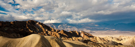 Picos de Death Valley Foto de Stock Royalty Free