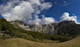 Picos de Europa山 免版税库存图片