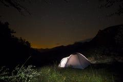 Picos de Europa山 免版税库存照片