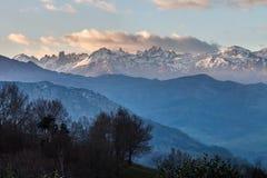 Picos de Europa berg Royaltyfri Foto