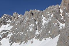 Picos DE Europa, Cantabrië stock afbeeldingen