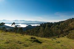 Picos De Europa i nordliga Spanien royaltyfri bild