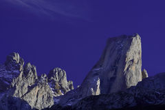 The Picos de Europa mountains Stock Images