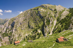 Picos de Europa national park Royalty Free Stock Photo