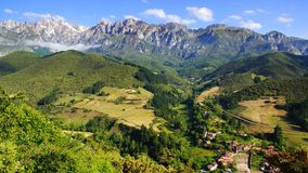 Picos de Europa National Park. Stock Images