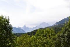 Picos de europa. Photo of north of Spain. Picos de europa Stock Image
