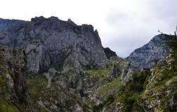 Picos de europa. Photo of north of Spain. Picos de europa Royalty Free Stock Images
