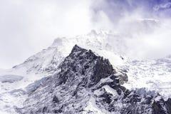 Picos de Jungfrau Foto de archivo libre de regalías