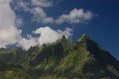 Picos de la costa de NaPali Imagen de archivo libre de regalías