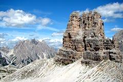 Picos de la roca Fotos de archivo