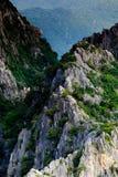 Picos de las montañas - Tailandia Foto de archivo