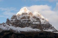 Picos de Lavaredo Foto de archivo libre de regalías