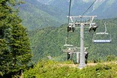 Picos de montaña Fotografía de archivo libre de regalías