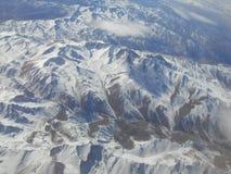 Picos de montañas Fotografía de archivo