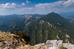 Picos de montanha Imagem de Stock Royalty Free