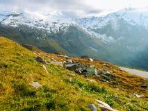 Picos de montanha Fotografia de Stock Royalty Free