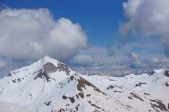 Picos de montanha Fotos de Stock