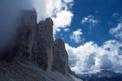 Picos de montanha Imagens de Stock