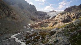 Picos de montanha em cumes franceses, Ecrins vídeos de arquivo