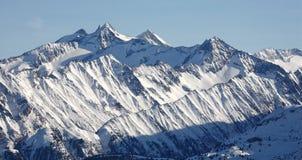 Picos de montanha em Tirol Fotografia de Stock Royalty Free