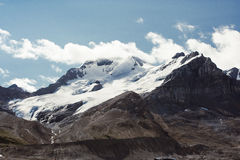 Picos de montanha rochosa, Canadá Fotos de Stock Royalty Free