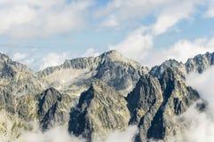 Picos de Tatra Imagen de archivo