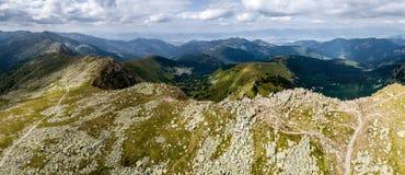 Picos de Tatras bajo Fotografía de archivo