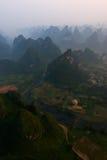 Picos de Yangshuo Foto de Stock