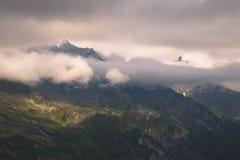 Picos de Zillertal imagen de archivo