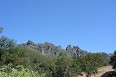 Picos del parque nacional de los pináculos altos fotografía de archivo libre de regalías