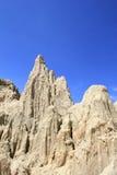Picos del valle de la luna Imágenes de archivo libres de regalías