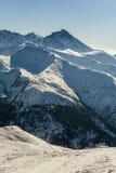 Picos en invierno Imagen de archivo