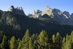 Picos en los Pirineos Foto de archivo