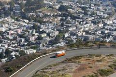 Picos gemelos, San Francisco, los E.E.U.U. Fotografía de archivo libre de regalías