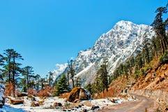 Picos hermosos de Himalaya Imagen de archivo libre de regalías