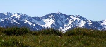 Picos majestuosos foto de archivo libre de regalías