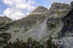 Picos na montanha de Rila, Bulgária Fotografia de Stock Royalty Free