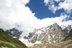 Picos nevado Imagem de Stock