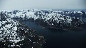 Picos para arriba en el norte ártico metrajes