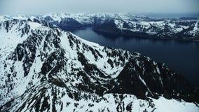 Picos para arriba en el norte ártico almacen de video